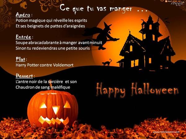 Halloween id e de menu - Idee menu halloween ...