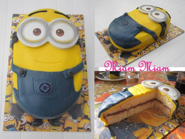 gateau d anniversaire minion facile secrets culinaires g teaux et p tisseries blog photo. Black Bedroom Furniture Sets. Home Design Ideas