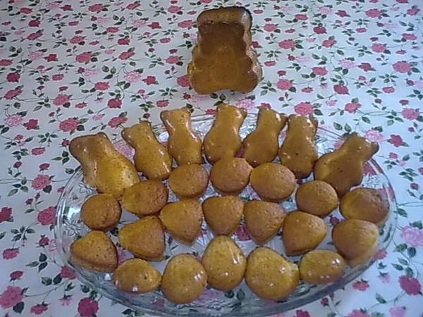 Mini gâteau en forme de nounours, coeur ...