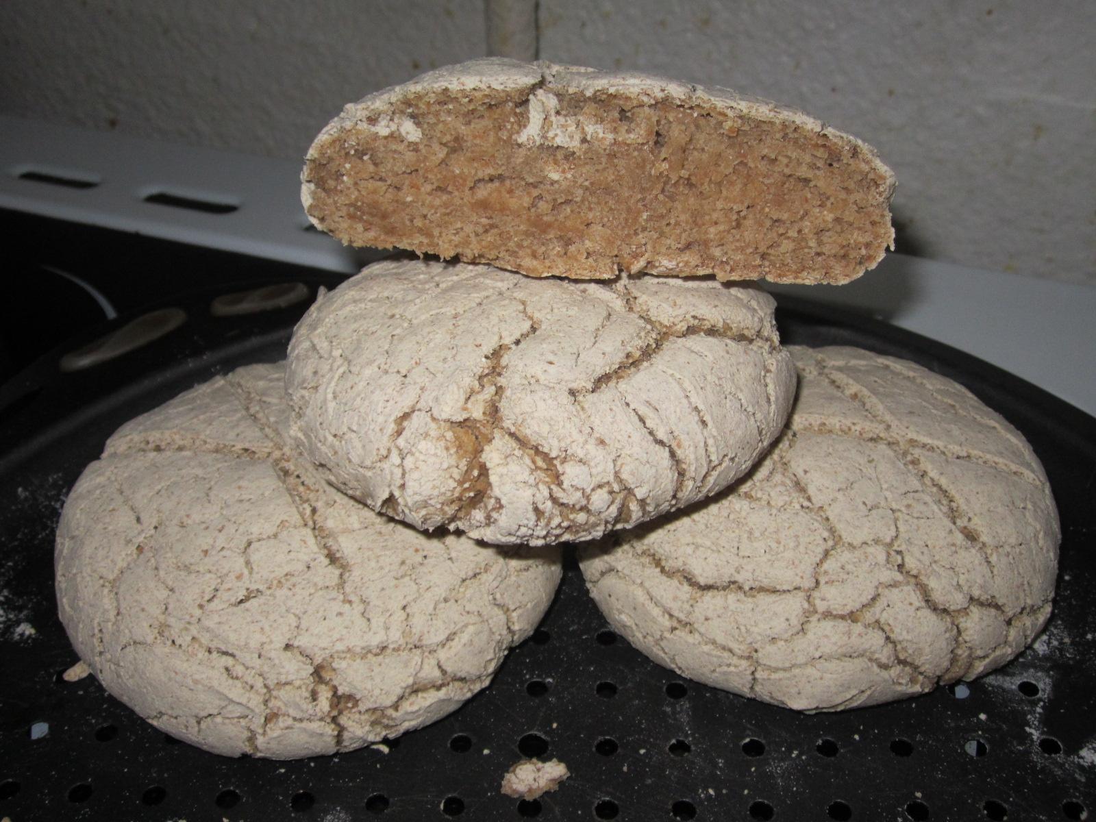 Petits pains ronds sans gluten - Je cuisine sans gluten ...