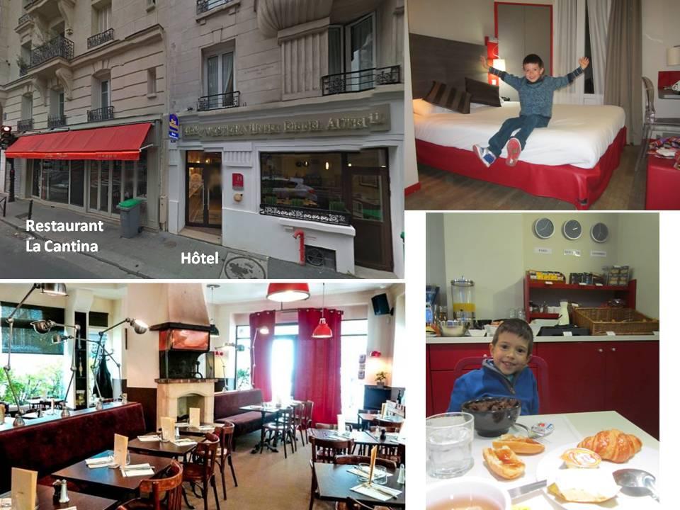 Restaurant la cantina paris 16i me for Abonnement cuisine sympa